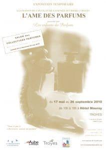 Affiche Troyes Ame des Parfums